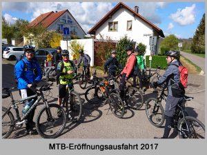 Vorschaubilder MTB-Eröffnungsausfahrt 2017