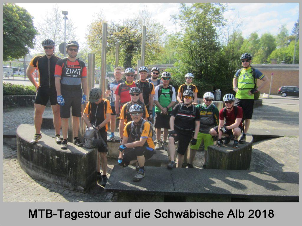 Vorschaubild MTB Tagestour Schwäbische Alb 2018