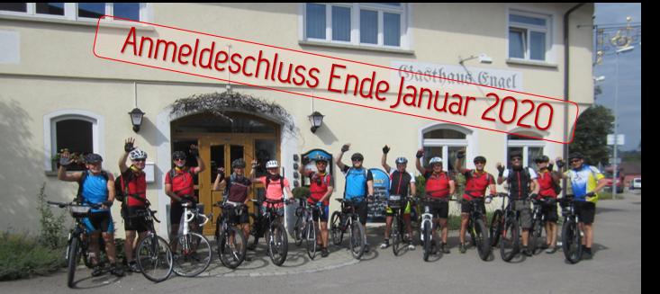 Anmeldung für die neue Radsaison!